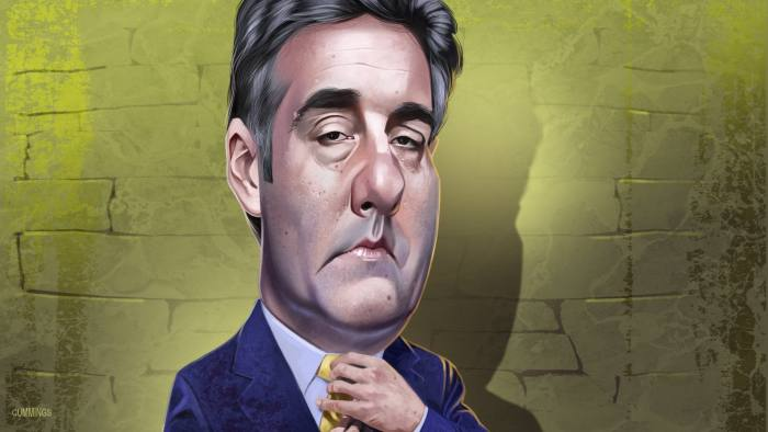 Person in the News - Michael Cohen by Joe Cummings