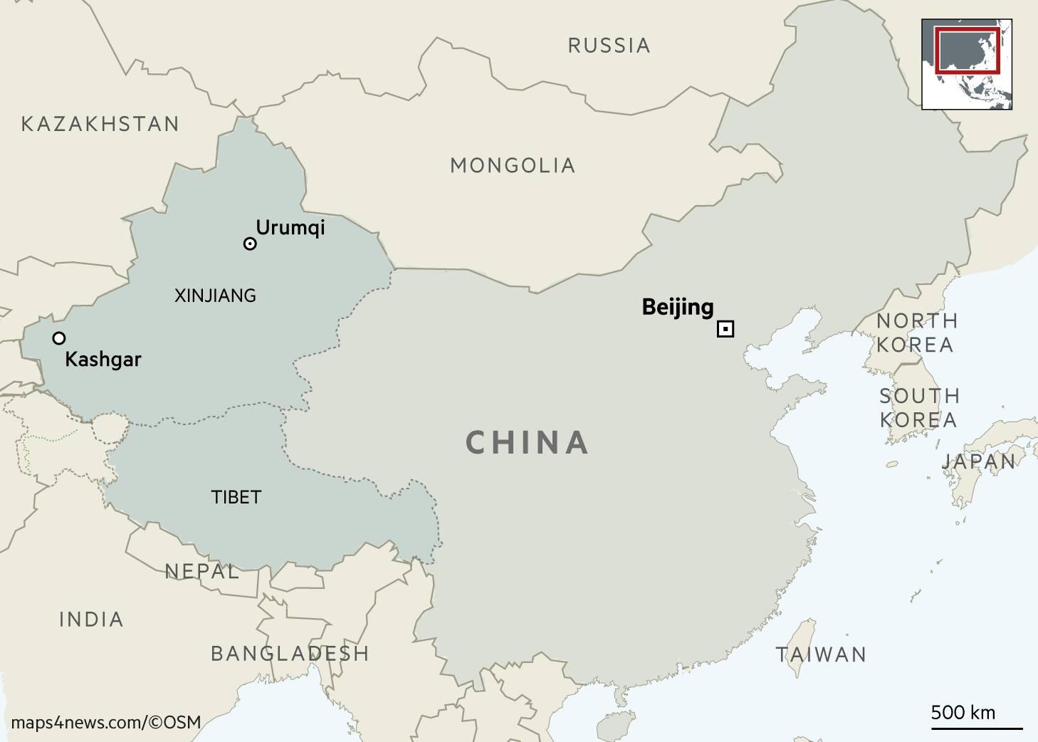 36++ Xinjiang map cities terbaru