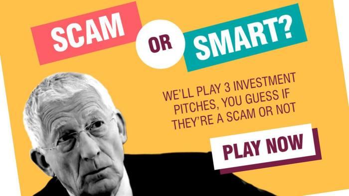 FCA Scam or Smart pensions scam campaign