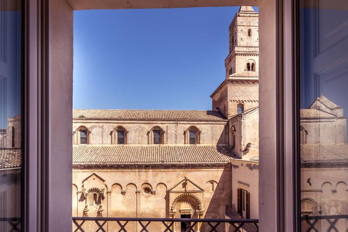 Palazzo Gattini-church view