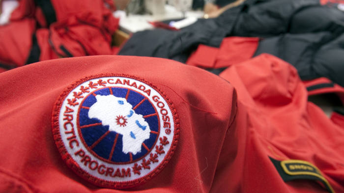 Workers piece together outerwear on the manufacturing floor of Canada Goose's facility in Toronto January 17, 2012. Coat maker Canada Goose found its niche by shunning the make-it-offshore phenomenon, producing its heavy duty down parkas on Canadian soil. Even as Canada's clothing industry crumbles, with employment down 60 percent in just over a decade, the 55-year old family-run shop bucked the broader trend of moving production to low-cost locales by keeping manufacturing at home. Picture taken January 17. To match Analysis CANADA-NICHE/ REUTERS/Fred Thornhill (CANADA - Tags: BUSINESS TEXTILE) - RTR2WZ7Q