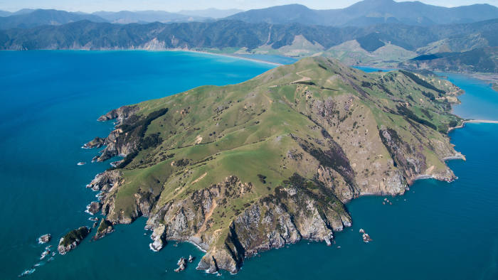 5B_Private Islands Credit: New Zealand Sotheby's International Realty  Available at the guide price of 16,000,000 NZD through New Zealand Sotheby's International Realty: www.sothebysrealty.com // + 64 21 968 108 www.nzsothebysrealty.com/purchasing/property/NEL00334/pepin-island-875-cable-bay-road-nelson/  The farmhouse is 7 bedrooms, there is  also a 3 bedroom house, 2 cottages that are 2 bedrooms each and 3 small chalets that are 1 bedroom each.     This makes the total number of bedrooms on the Island: 17     The agent has also noted: The island is Sensitive Land in NZ and non-resident purchasers would require NZ Overseas Investment Office (OIO) Consent to confirm purchase.
