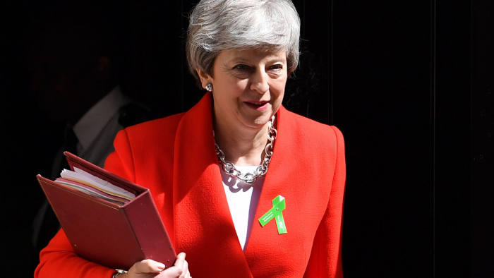 Image result for Theresa May to resign as prime minister