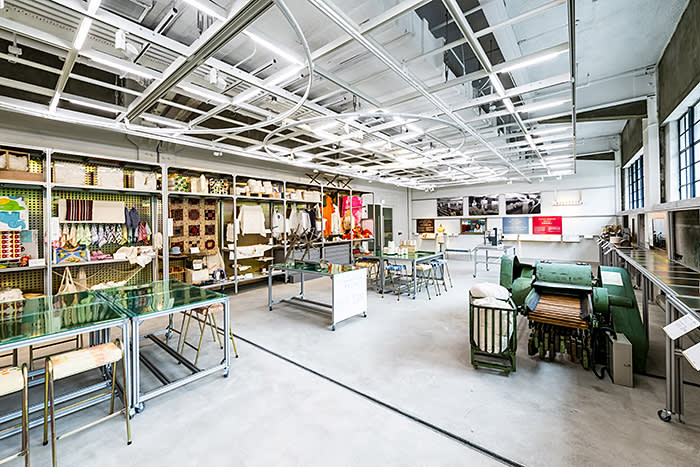 The Welcome to the Spinning Factory! exhibition at The D. H. Chen Foundation Gallery features an evolving collection of not only precious objects but valuable stories of Hong Kong's textiles.