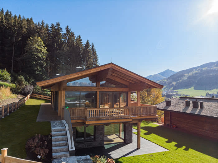 A four-bedroom chalet in Jochberg, €5.87m through Rightmove