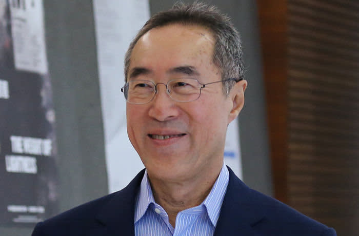 Former Chief Secretary Henry Tang Ying-yen attends 65th Board Meeting of West Kowloon Cultural at Cyberport in Pok Fu Lam. Tang is recently appointed as chairman of the West Kowloon Cultural District Authority. 24OCT17 SCMP / Dickson Lee 			 (Photo by Dickson Lee/South China Morning Post via Getty Images)