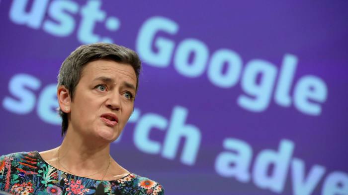 Vestager revives dormant antitrust weapon against tech groups