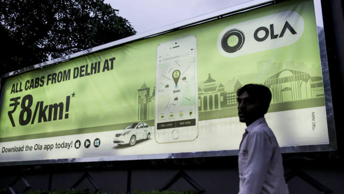 London in for wild ride as Ola takes on Uber | Financial Times