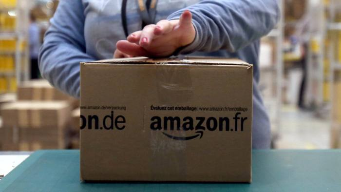 Amazon hits record $1 9bn profit on tax boost | Financial Times