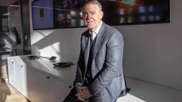 Jeremy Darroch. CEO Sky. Central London. 30/11/18