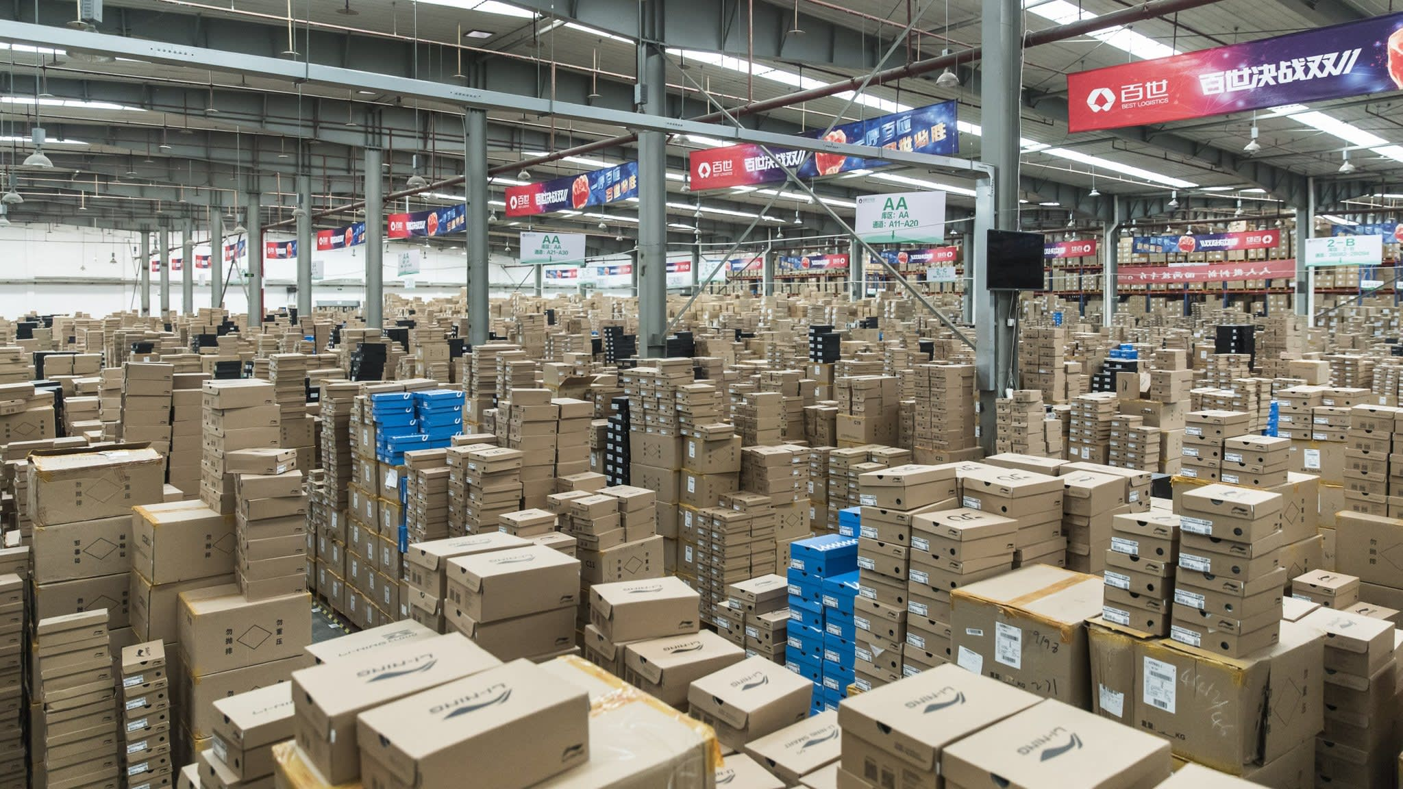 China ecommerce boom fires up logistics sector | Financial Times