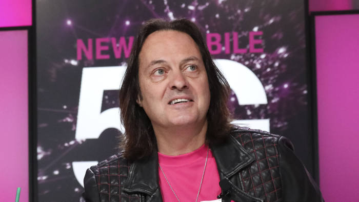 John Legere To Step Down As T Mobile Usa Chief Financial Times