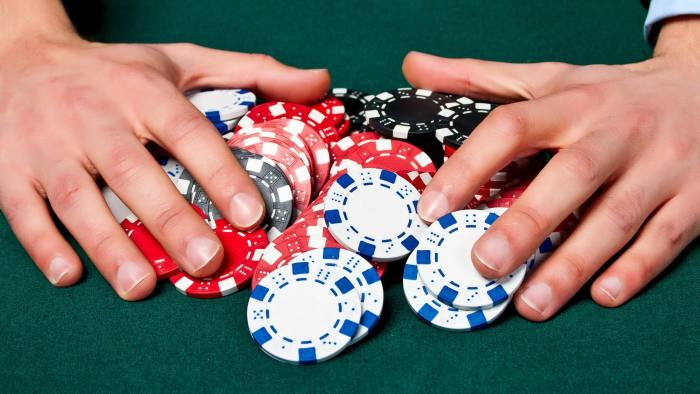 Chips on the table. ROYALTY-FREE STOCK PHOTO Download Chips on the table. stock photo. Image of play, gambling - 24322328 Group of chips on the green cloth. Photo Taken On: March 29th, 2012 cloth,green,group,table,addiction,background,bet,black,casino,chance,chip,club,deal,dealer,entertainment,felt,finance,flush,fortune,gamble More ID 24322328 © Arthur Fatykhov | Dreamstime.com 0 257 0