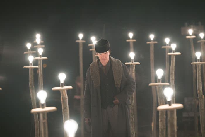 Benedict Cumberbatch as Thomas Edison in 'The Current War'