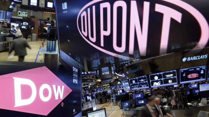 Dow hopes for US-China trade deal to 'drive momentum' | Financial Times
