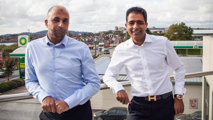 Brothers Zuber and Mohsin Issa founders of Euro Garages in Blackburn - image supplied