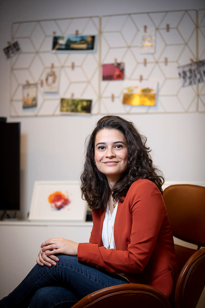 Gabriela Rodrigues traded bitcoin to avoid foreign exchange fees
