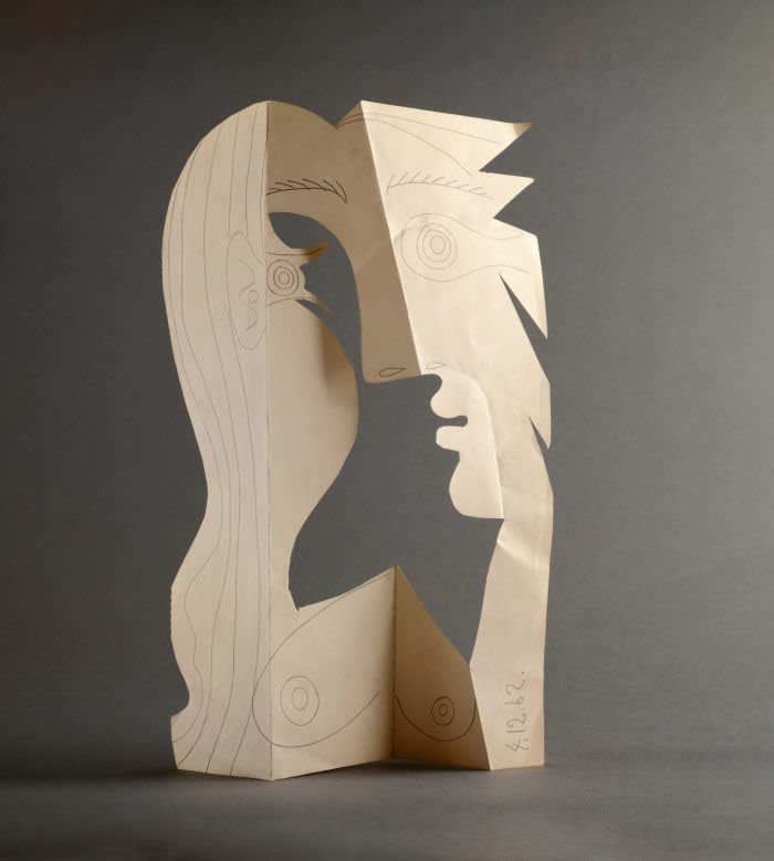 'Head of a Woman' (1962) is a sculptural portrait of Jacqueline, Picasso's second wife
