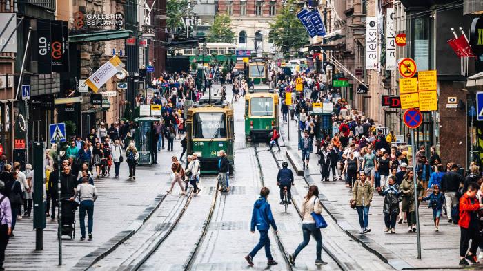 Smart city travel crosses the public-private divide   Financial Times