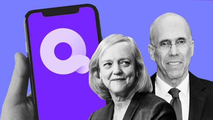 Jeffrey Katzenberg and Meg Whitman show off Quibi at CES | Financial Times