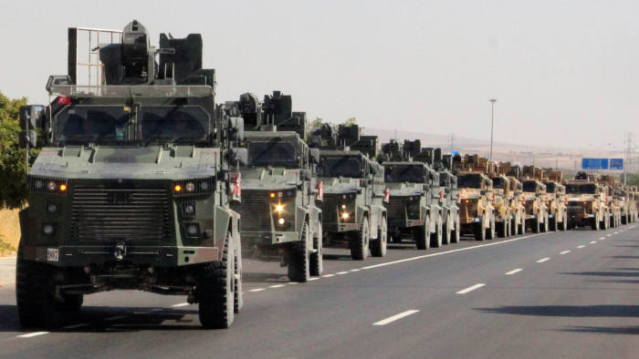 Image result for turkey military offensive in syria