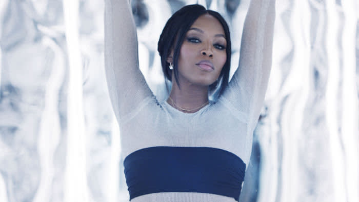 Naomi campbell in promo video for Equinox hotel