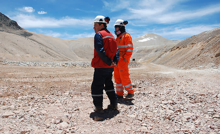 Workers at high altitude can suffer from mountain sickness