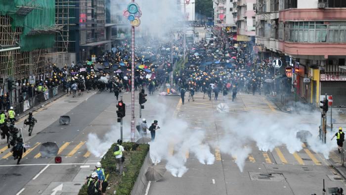 Hong Kong Investors Dump Stocks Amid Mounting Protests Financial Times