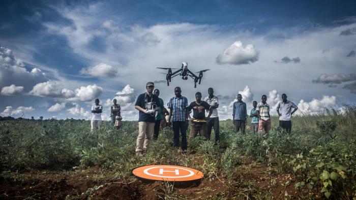 "Kyoto Uni Testing - the new Unicef ""Drone Academy"" in Malawi"