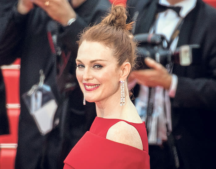 CANNES, FRANCE - MAY 08: Julianne Moore attends the screening of