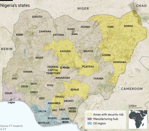 Cobbled together': Nigeria's federal system shows the strain