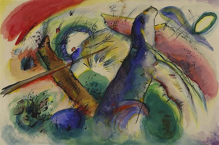 Kandinsky's 'Composition E' (1915)