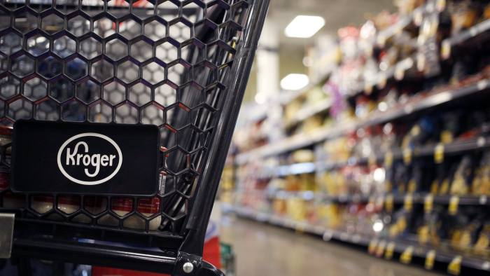Kroger shares plunge as grocer warns profits will fall