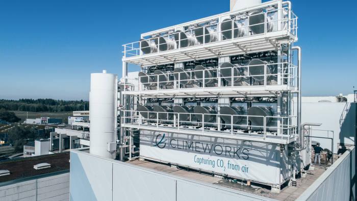 Climeworks Carbon capture Plant, Switzerland