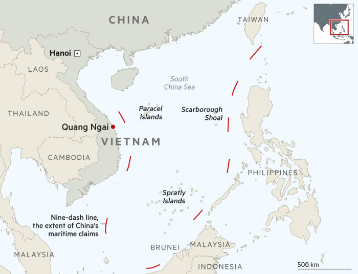 South China Sea: on the front line of Beijing's ... on vietnam and china map, vietnam china war 2009, vietnam china south china sea, china sea map, vietnam china oil rig, vietnam and thailand, vietnam china korea and taiwan, vietnam china war map, china and east asia map, vietnam and china border dispute, vietnam china war 1984, vietnam china history, china beach vietnam map, nanning china map, south korea border map, vietnam postcards saigon, vietnam flag and emblem, vietnam by sea, vietnam near china border,