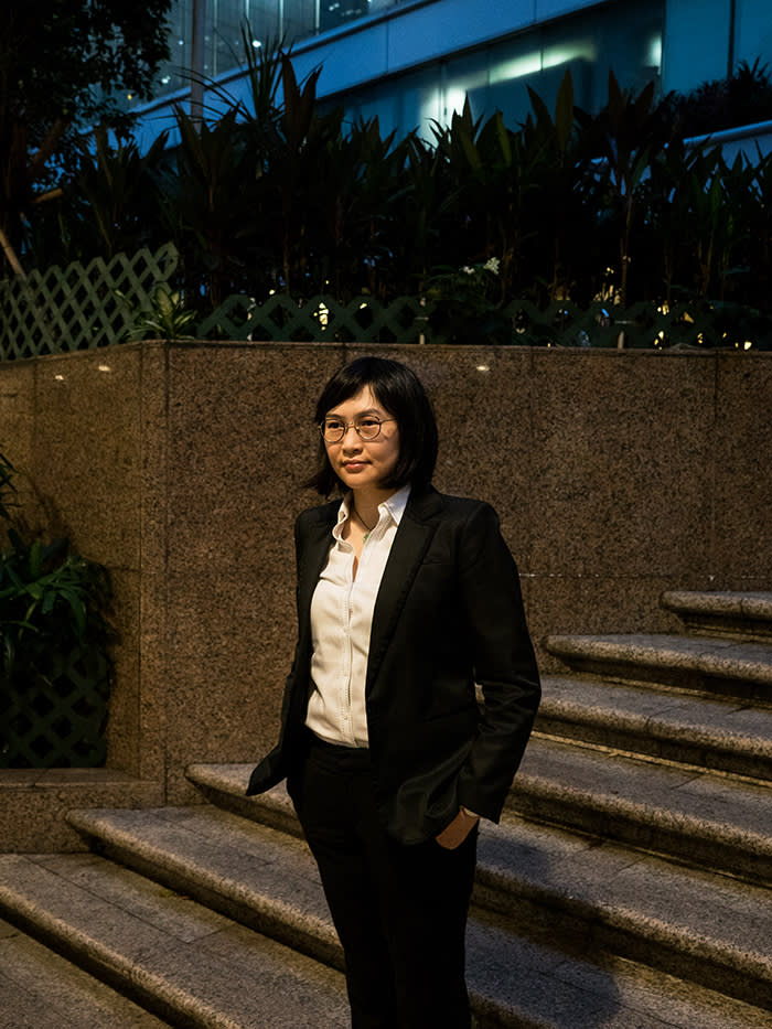 """'For people who are moderate like me, we still believe in """"one country, two systems"""".' Vickie Lui, spokeswoman for the Progressive Lawyers Group"""