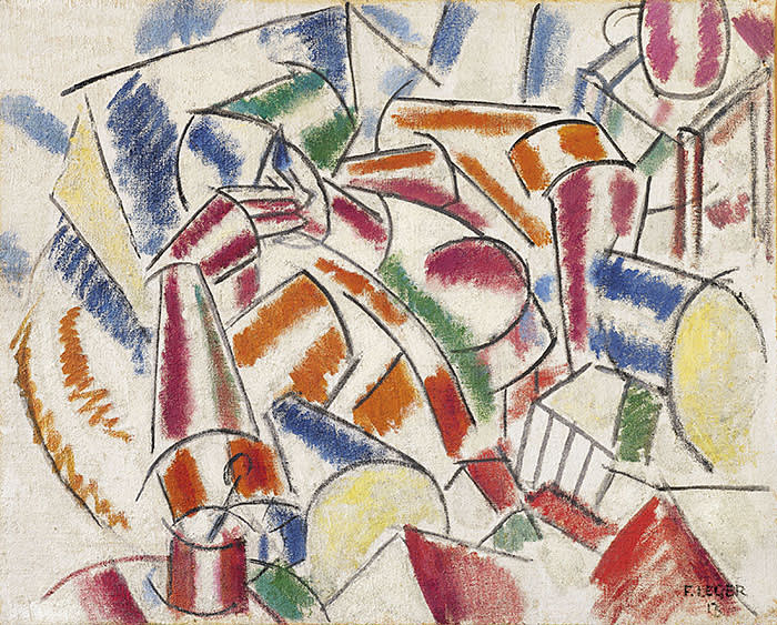 Christie's Impressionist and Modern Art Evening Sale Fernand Léger (1881-1955) Femme dans un fauteuil Estimate On Request