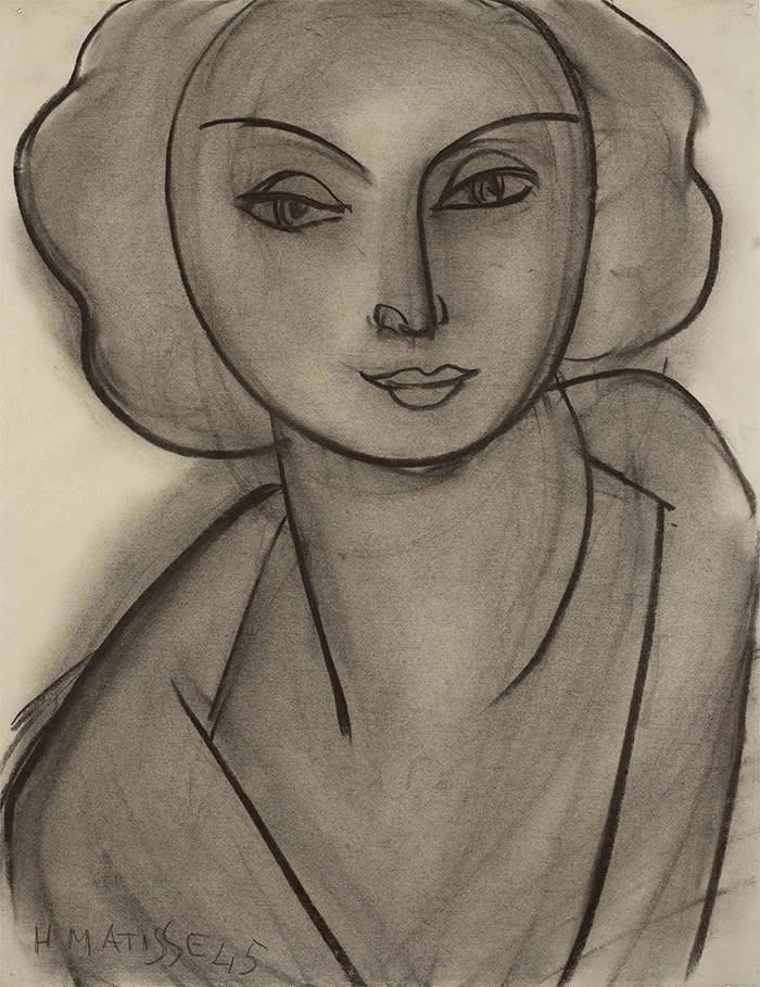 Matisse's 'Portrait de Lydia Delectorskaya' (1945)