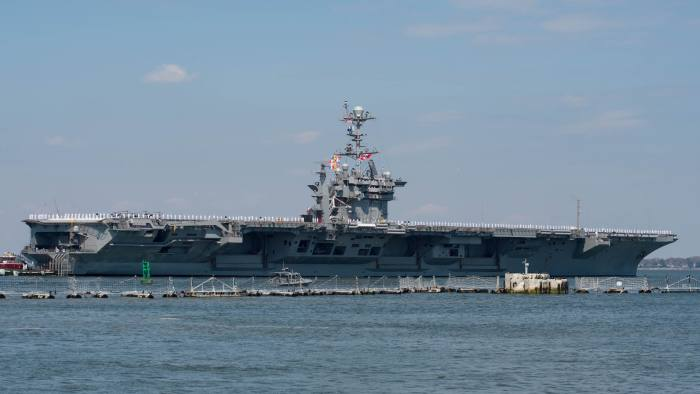 US naval presence off Syria sends clear signal | Financial Times