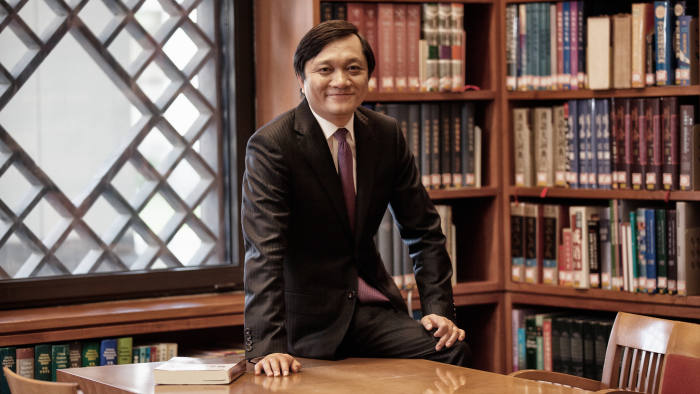 Dean Ding Yuan of China Europe International business school: Pics supplied