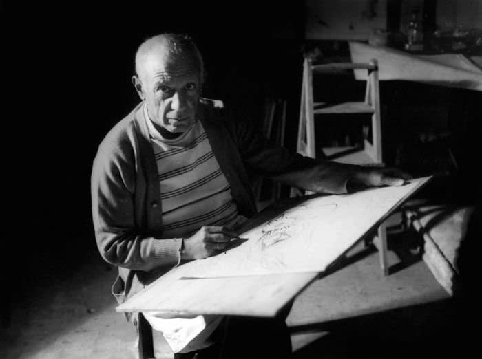 Modernism's supreme draughtsman: Picasso drawing in Antibes, 1946
