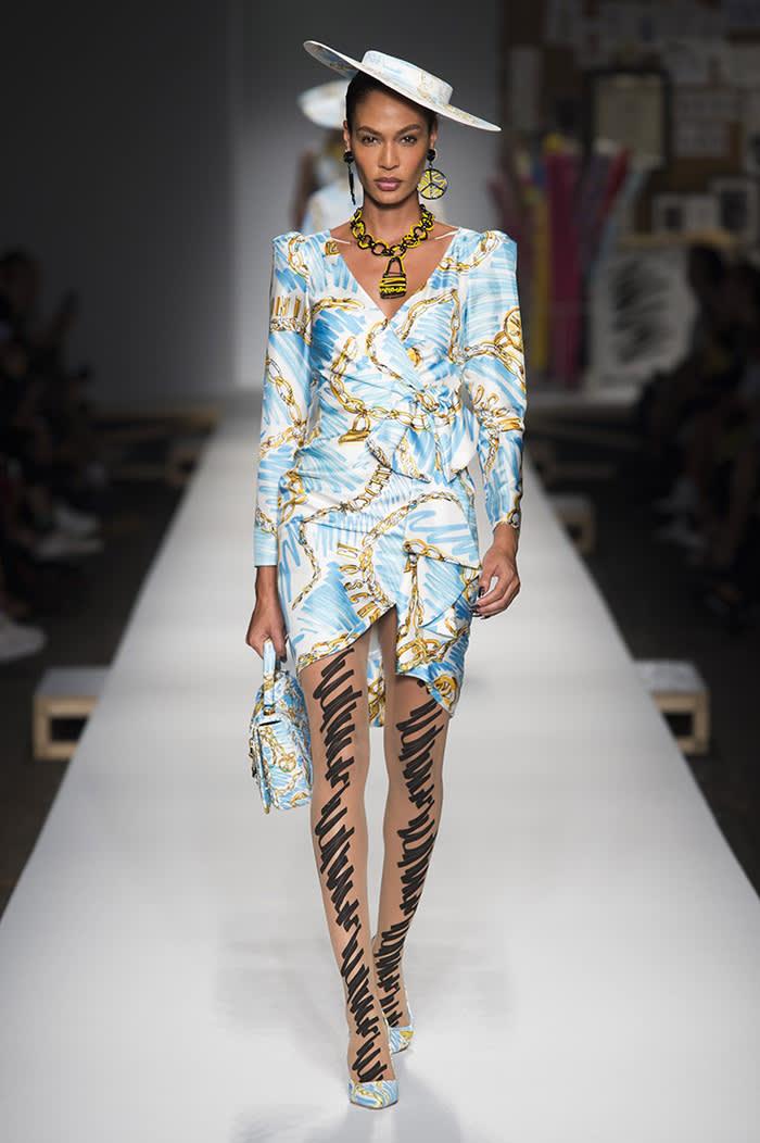 Moschino at Milan Fashion Week SS19