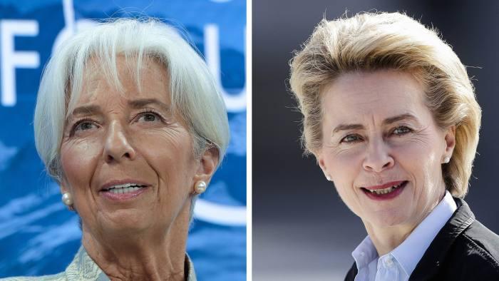 Christine Lagarde and Ursula von der Leyen: meet the EU's
