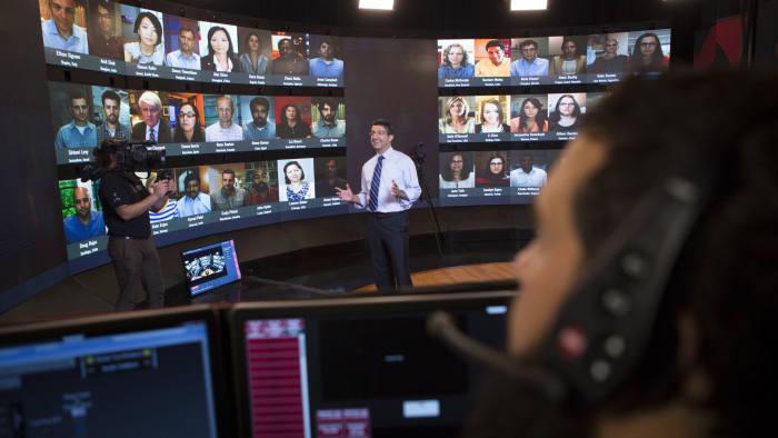 Harvard Business School's Virtual Classroom