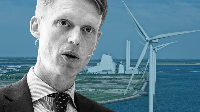 Henrik Poulsen, chief executive of Orsted: 'There will be profits that you forgo on the black energy side, but also profits to be made on the green energy side'