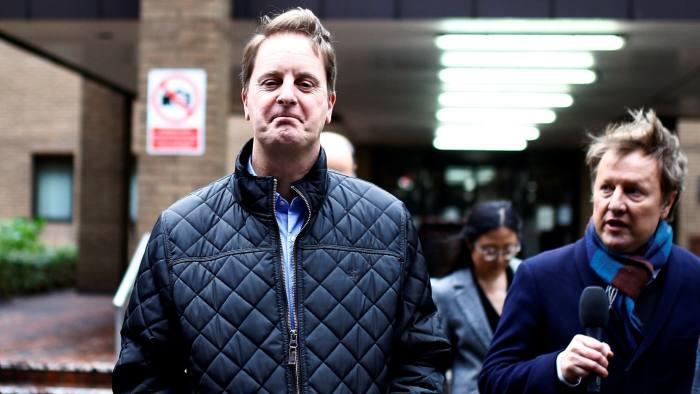 John Scouler a former commercial director for Tesco  leaves Southwark Crown Court in London last week