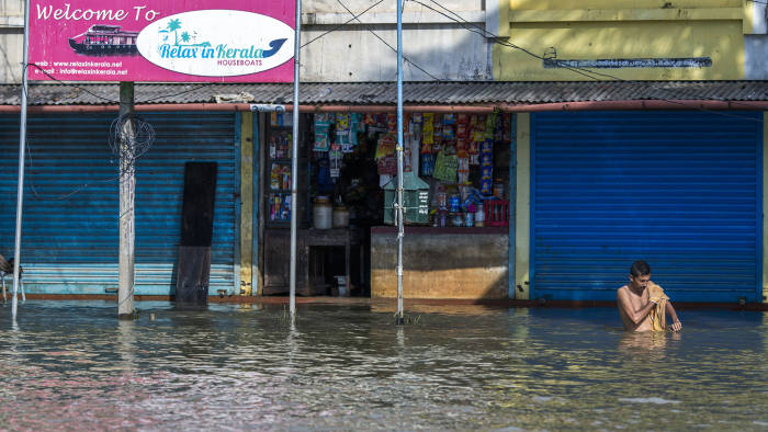 India's rejection of $100m foreign flooding aid sparks anger