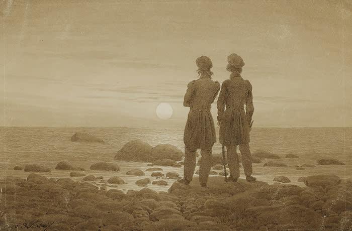 Friedrich's 'Two Men on the Sea Coast' (1830-35)
