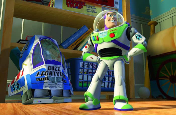"PMAG65 ""Toy Story"" (1995) Disney/Pixar Buzz Lightyear"