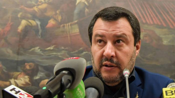 Matteo Salvini: 'The gold is the property of the Italian people, not of anyone else.'